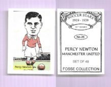 Manchester United Percy Newton 26 (FC)